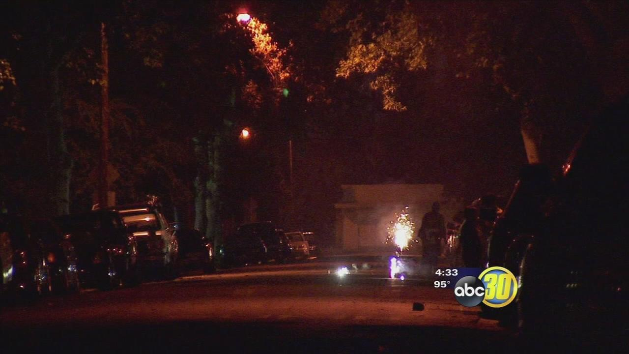No one injured and fewer calls this 4th of July in the Central Valley, Officials say