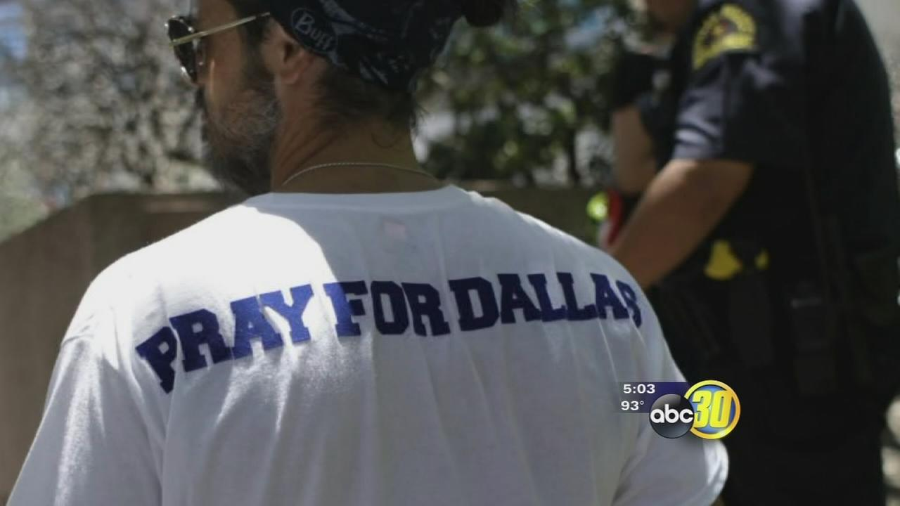 Valley residents preach peace in wake of nationwide violence