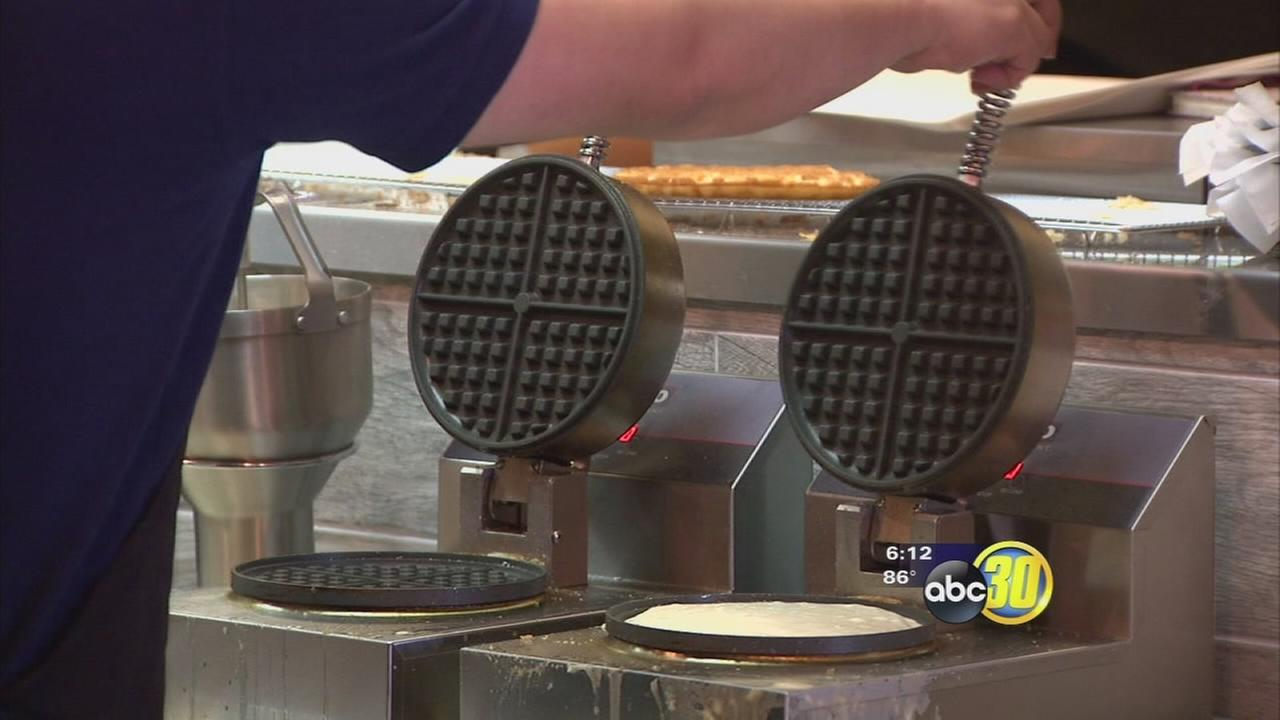 New Fresno restaurant offering unique foods using waffles