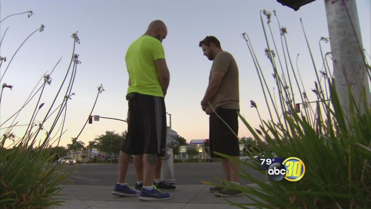 3 Fresno men retrace the steps of Black Lives Matter protest with prayer walk
