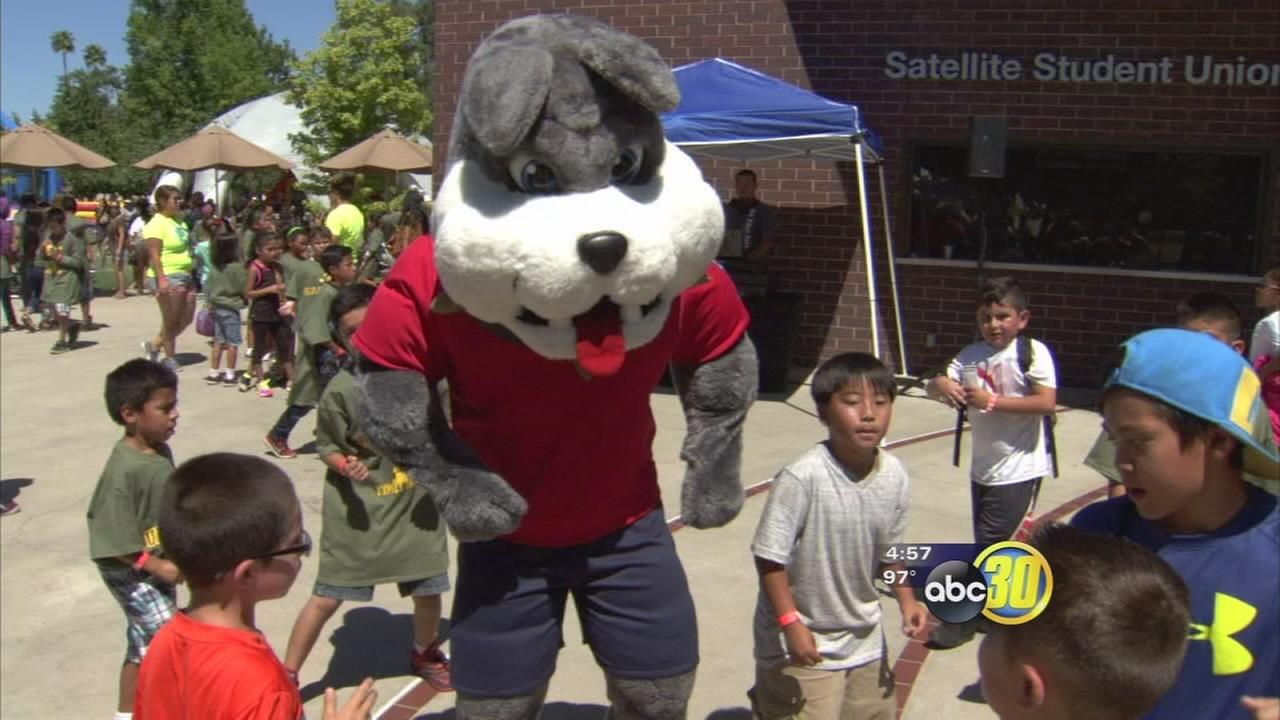 After school program at Fresno State empowers kids to strive for college