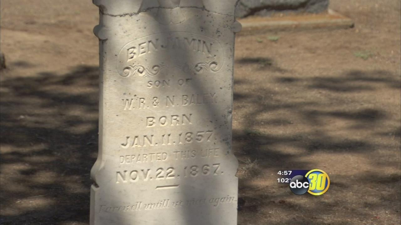Headstones offer historical perspective