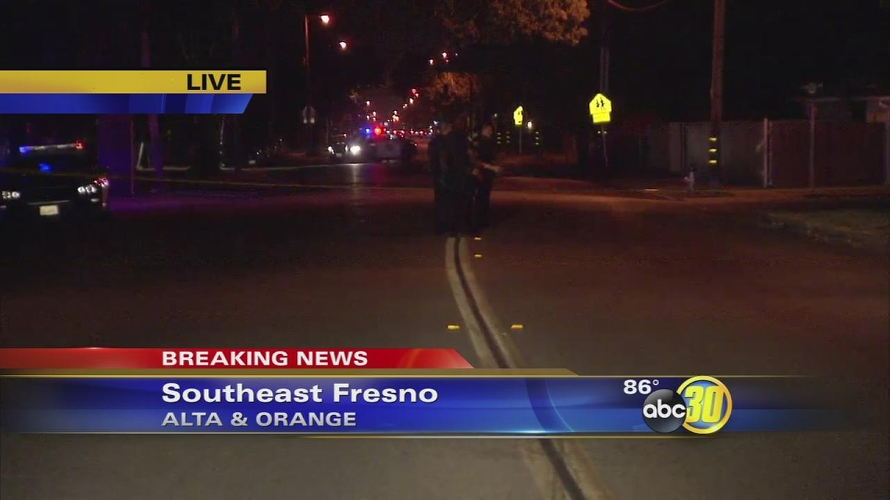 Police looking for suspect who shot a man in the leg in Southeast Fresno