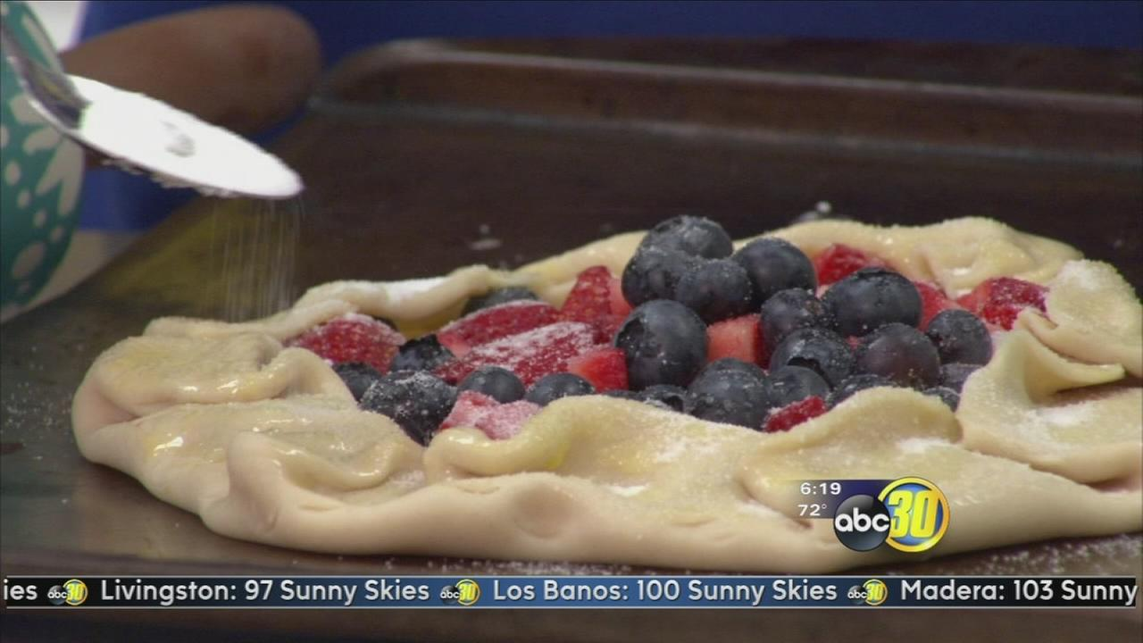 Chef Shaya: Berry Galette and Strawberry Basil Margarita