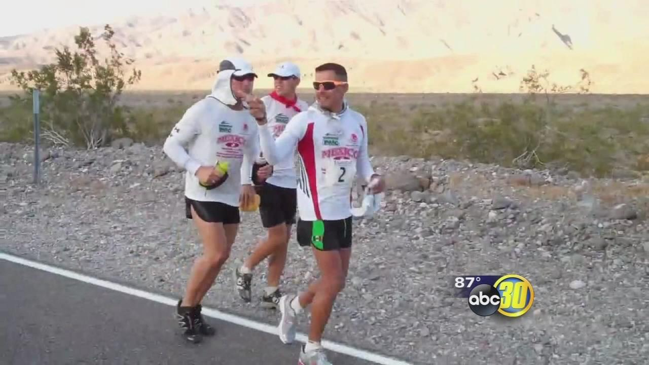 Valley runner preparing to take on a 135-mile marathon in the middle of the California desert