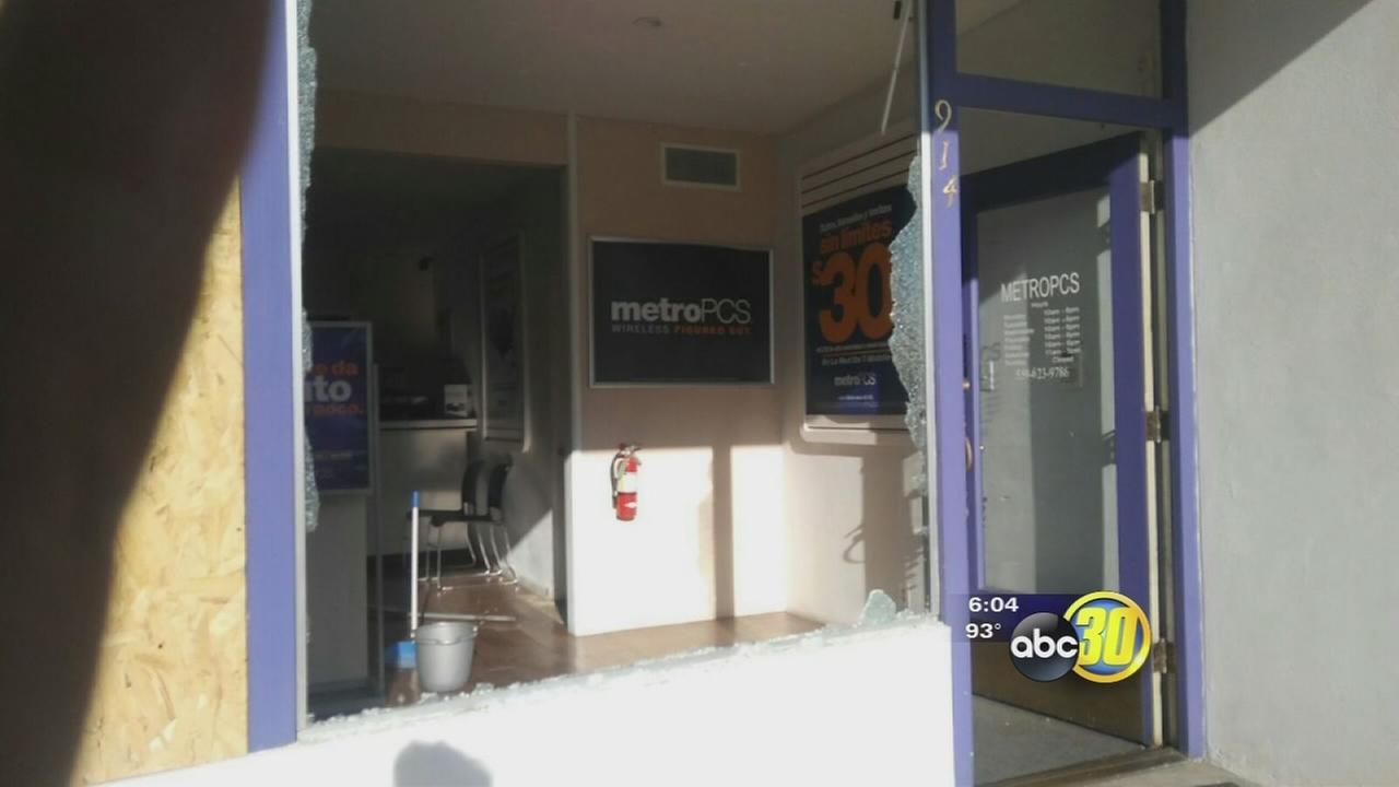 South Valley cell phone store has been hit by vandals three times within the last month