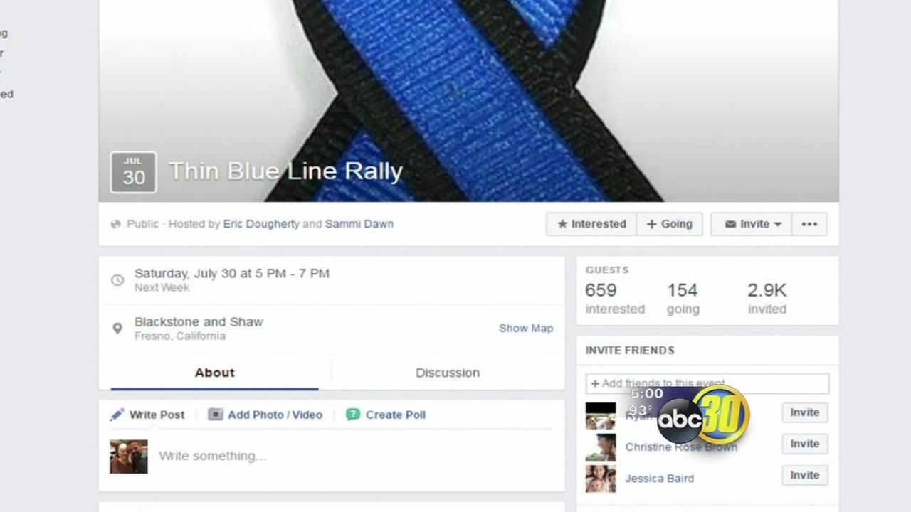 Rally planned in Fresno in support of officers