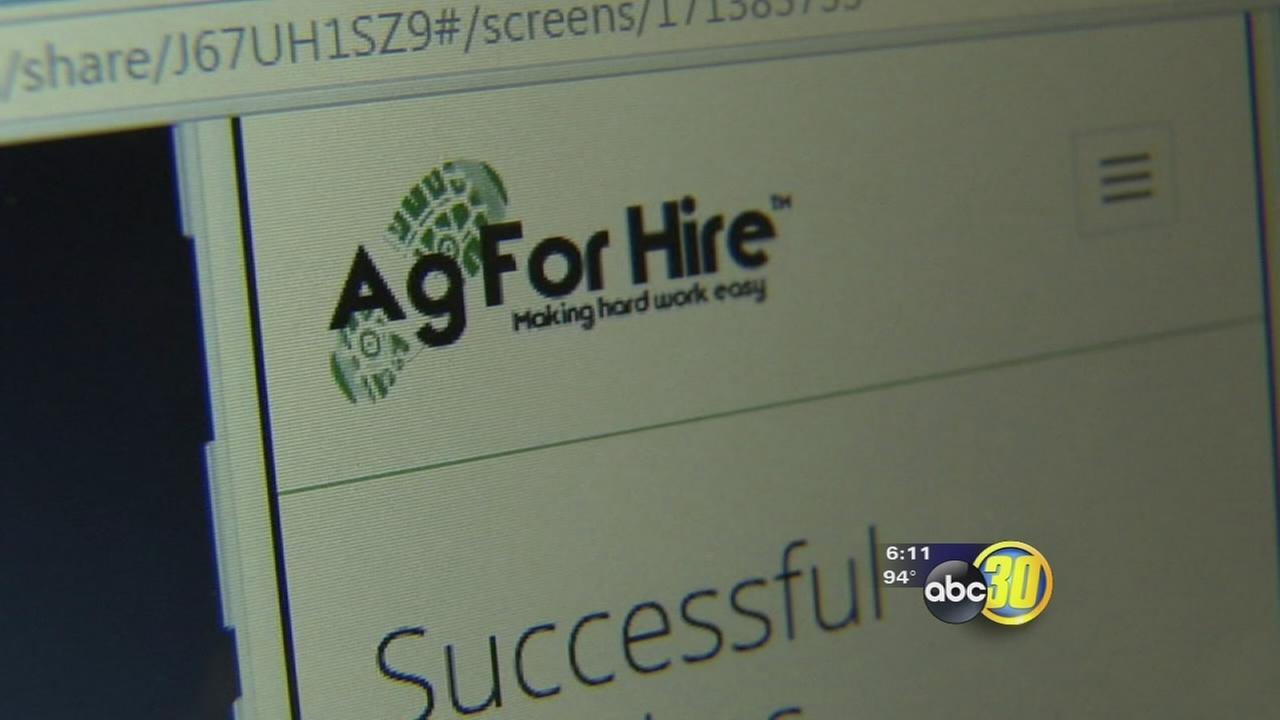 Local college student making waves with new app he helped create that assists farm workers find  jobs