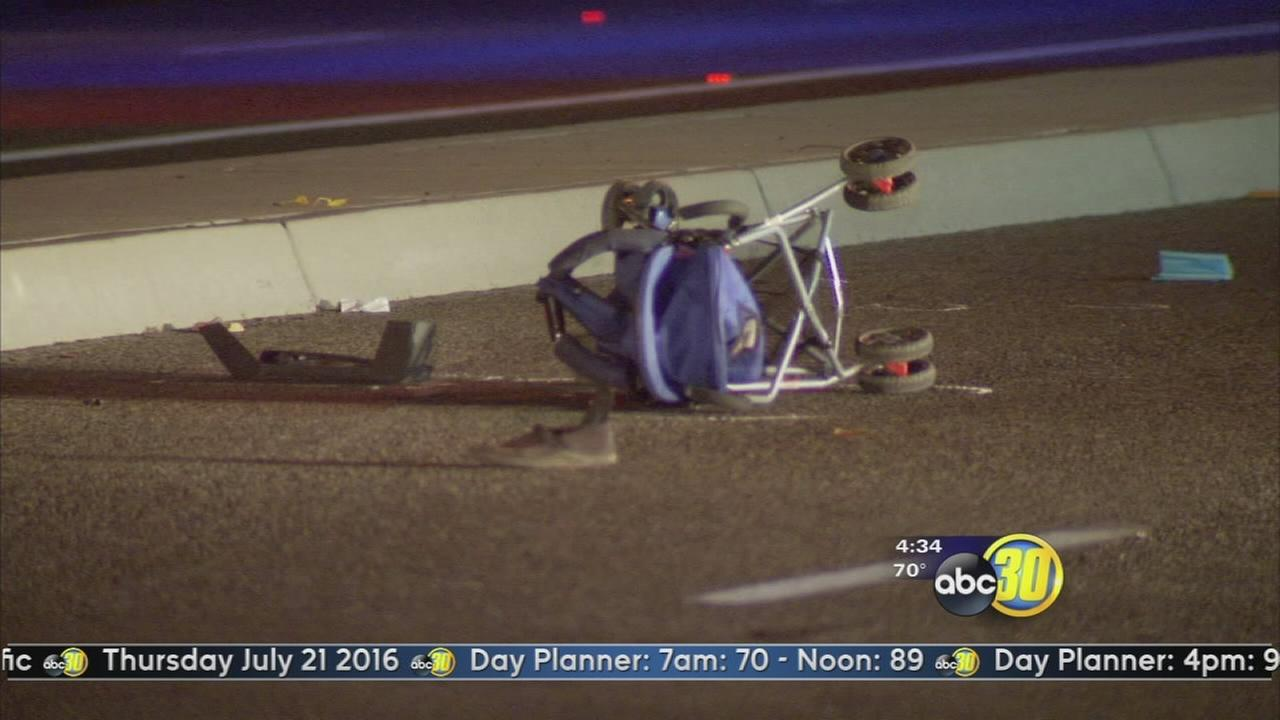 13-year-old hit by truck while pushing stroller in Clovis