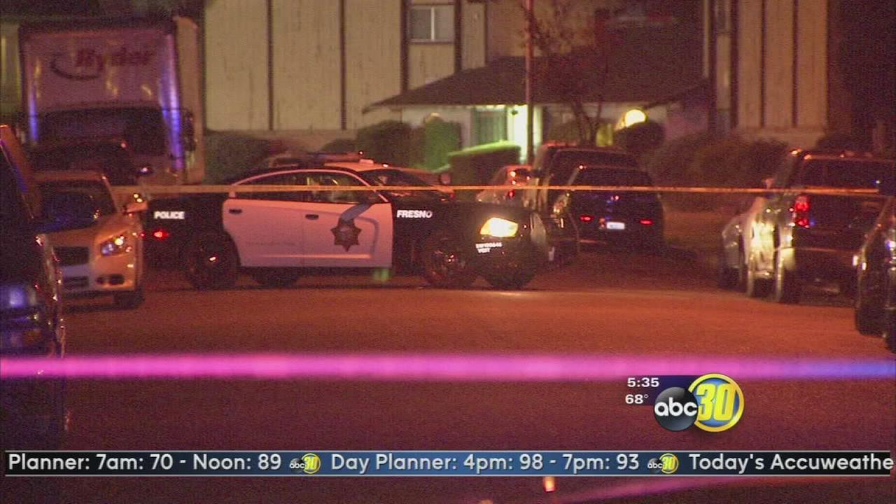 Three men shot, gunman at large in East Central Fresno