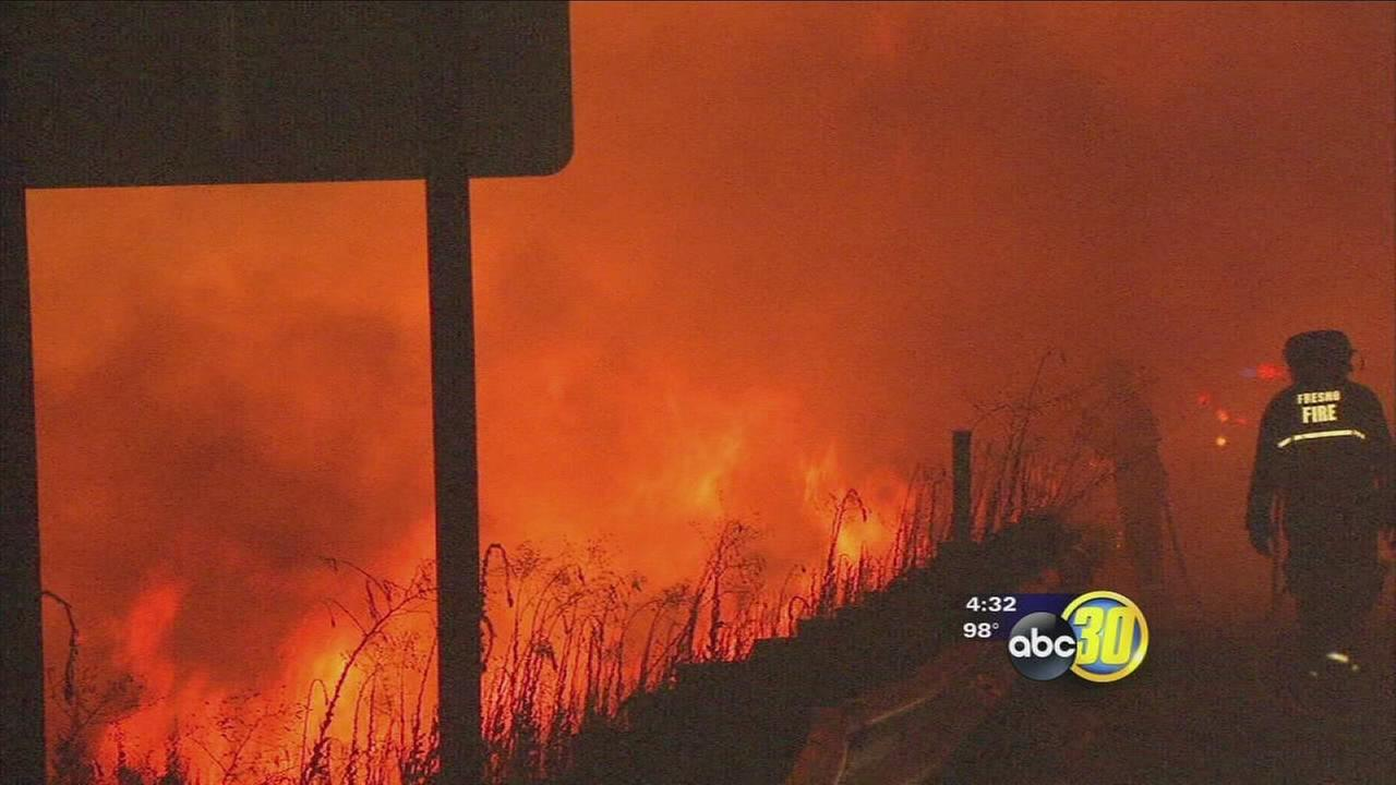 After several fires break out along highways residents worried about weeds on embankments