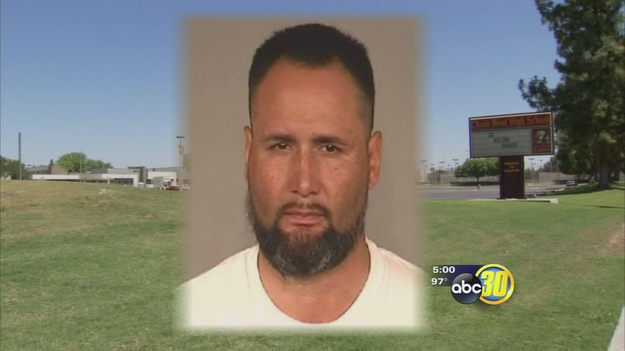Clovis West High teacher arrested for lewd acts with a child