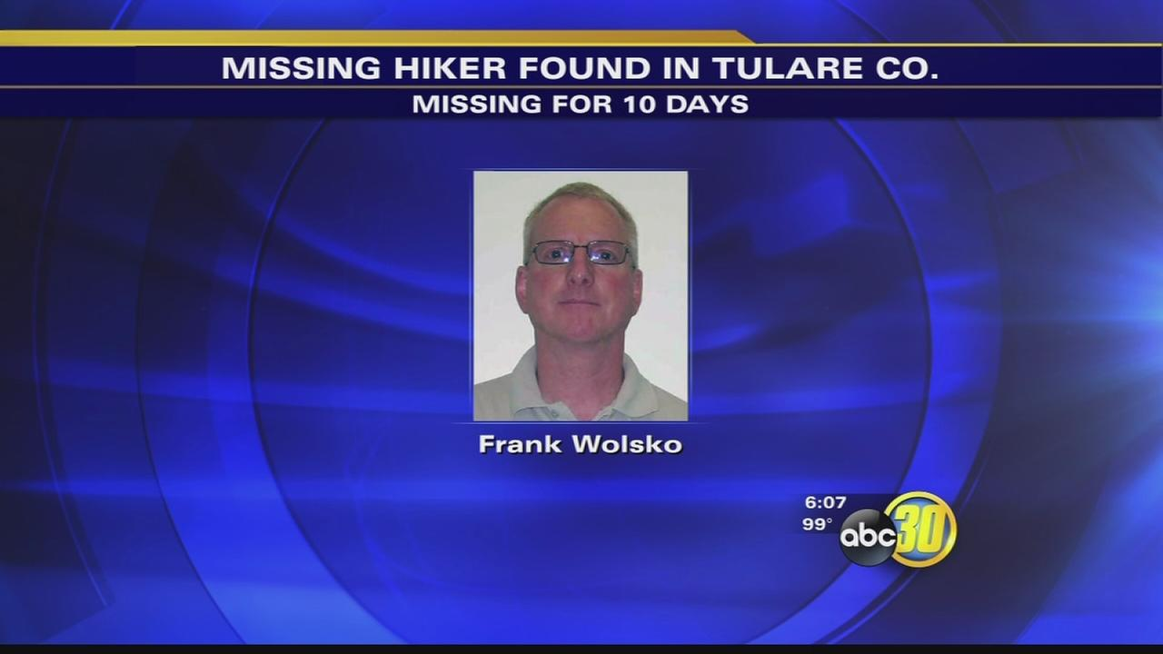 Missing Delano hiker found after 10 days