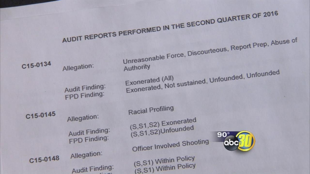 Community advocate unhappy with independent audit of Fresno Police