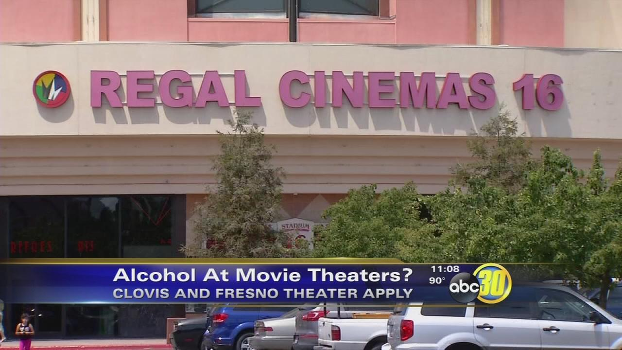 Fresno and Clovis movie theaters apply to sell beer and wine