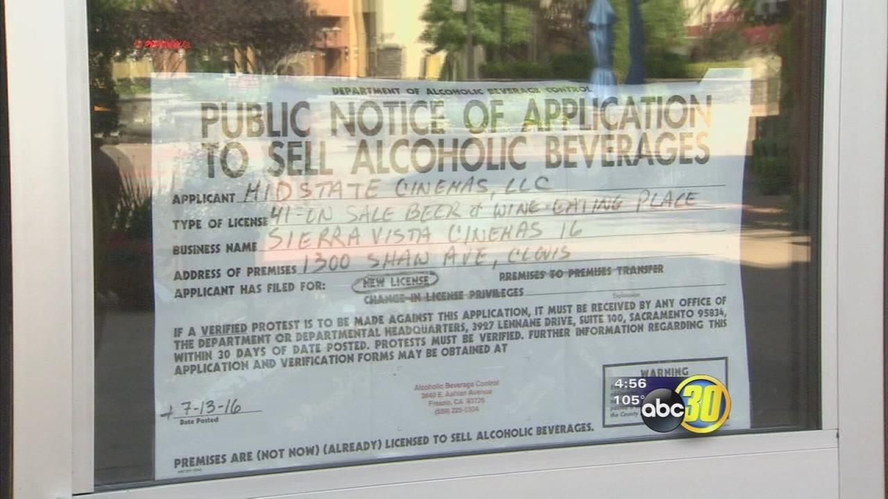 Local theaters working on getting approval to offer alcoholic beverages