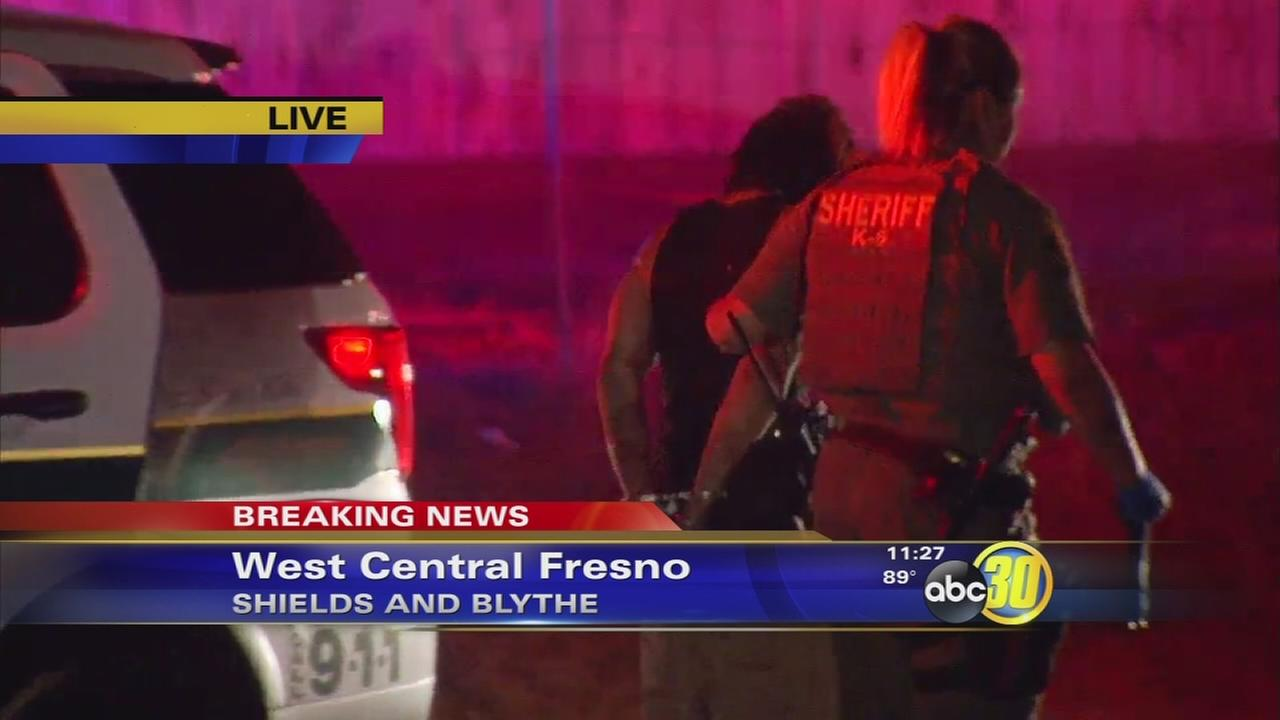 Fresno County Sheriff arrests man after high-speed pursuit and crash