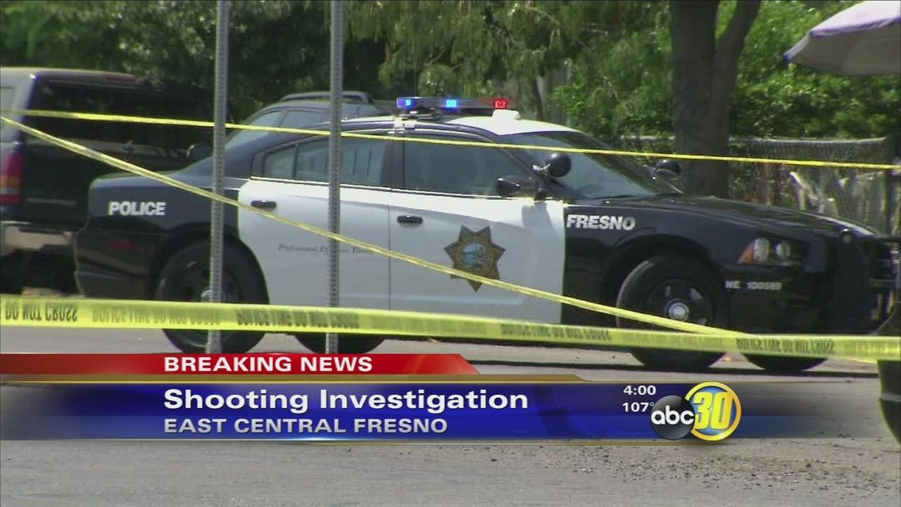 Police investigating drive by shooting in East Central Fresno