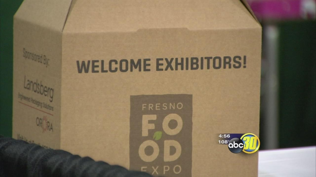 Fresno Food Expo anticipating thousands to come to convention center