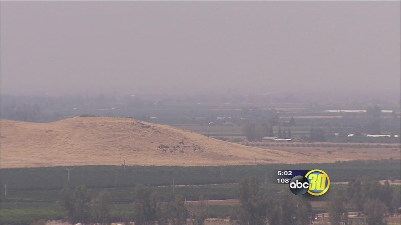 Wildfires affecting Fresno air quality