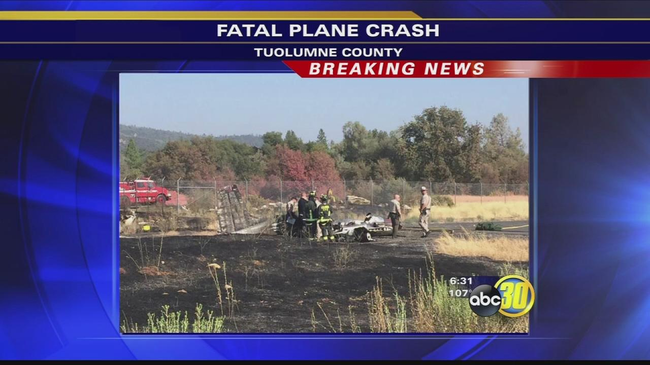 4 people killed in private plane crash in Tuolumne County
