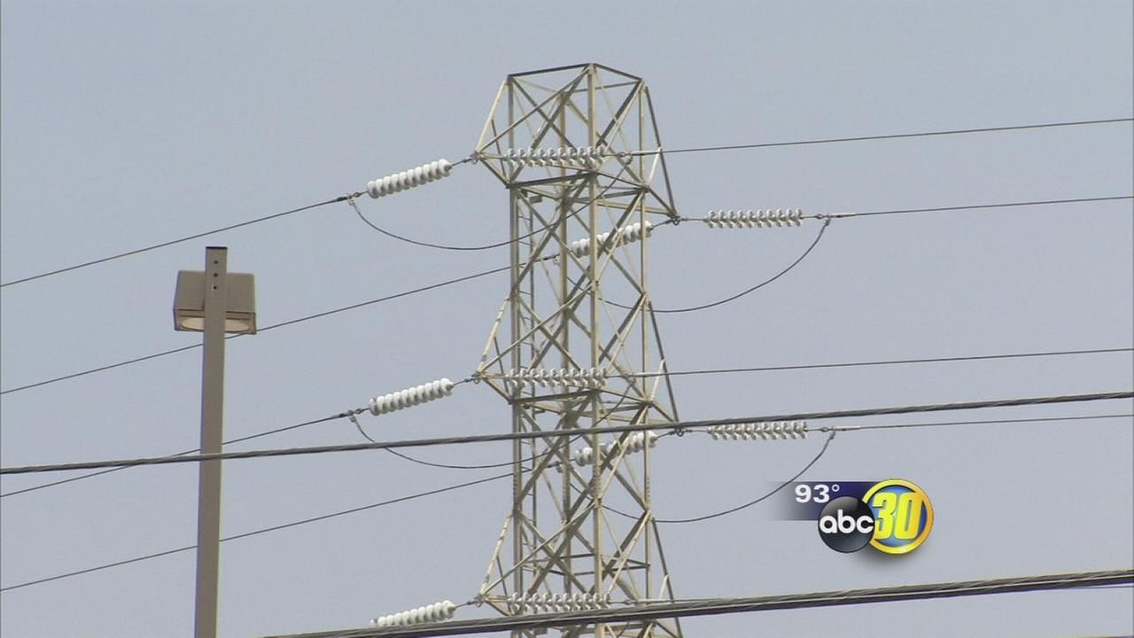 Triple digit heat tax Valley power grid