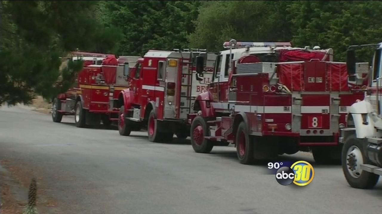Wildfires across the state are putting strain on local firefighters
