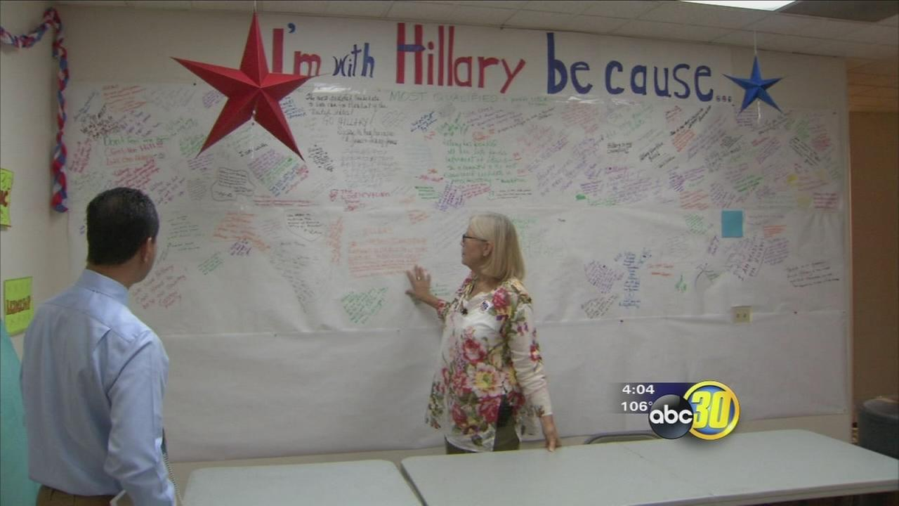 Valley women await historic moment at DNC