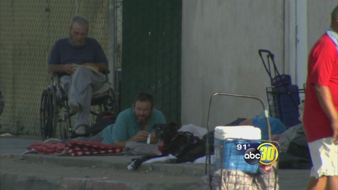 Homeless population most susceptible to the summer heat