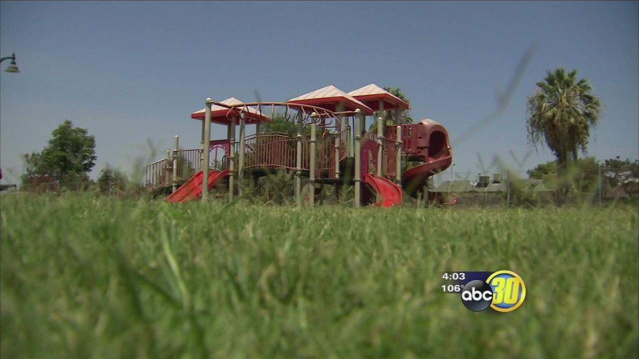 Playgrounds not a place of fun in Fresno during summer