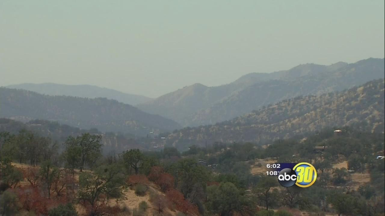 Unexpected, unhealthy air makes its way to Sequoia and Kings Canyon National Parks