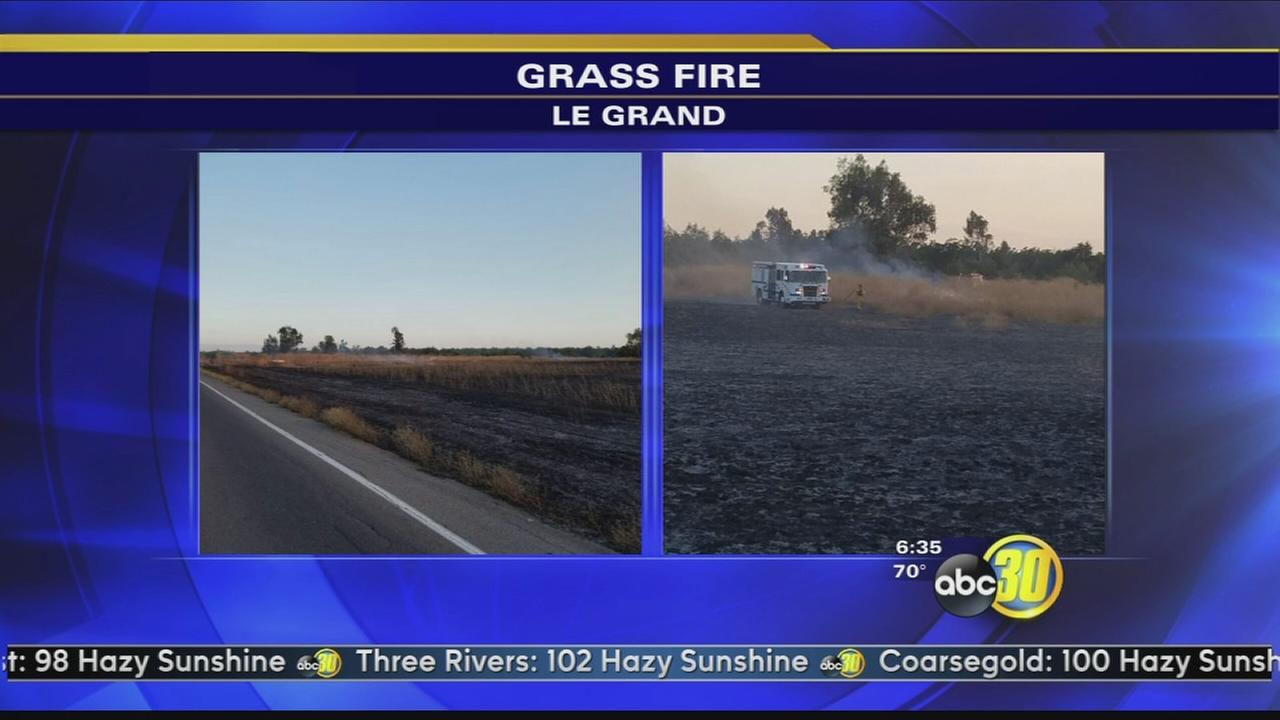 Firefighters in Merced County investigating fire that burned 75 acres