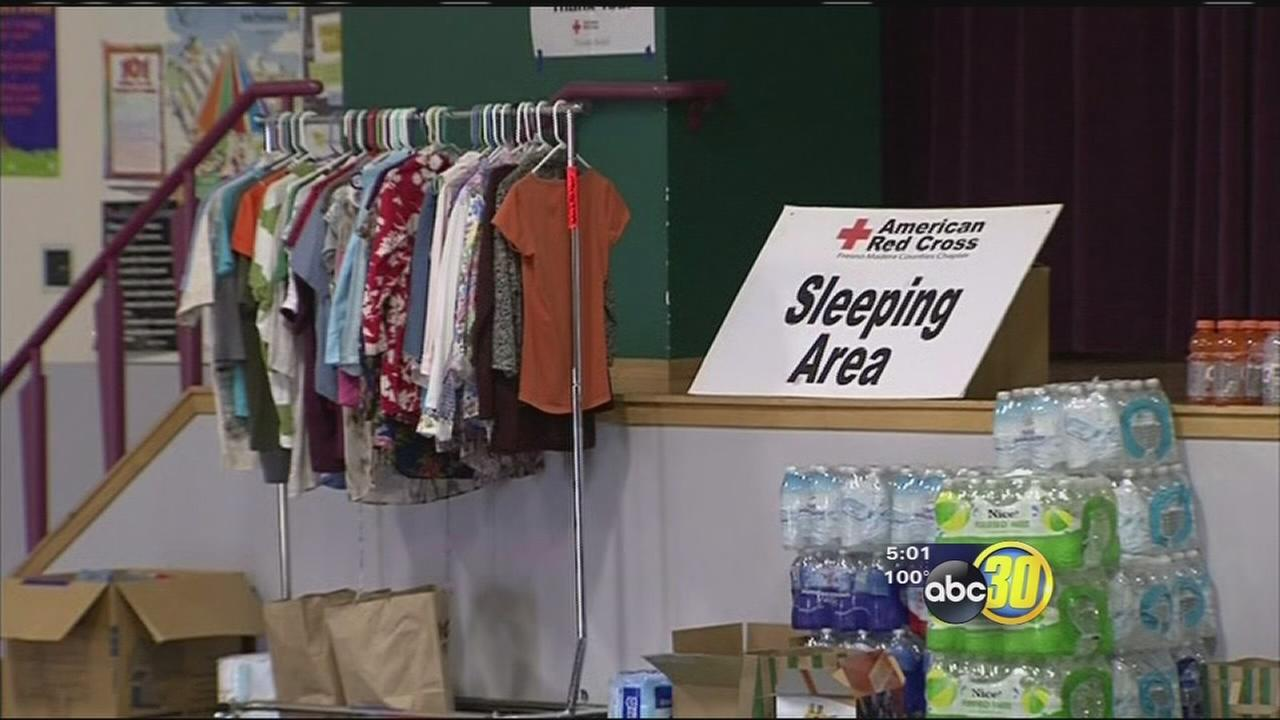 Goose Fire evacuees prep for another night away from home