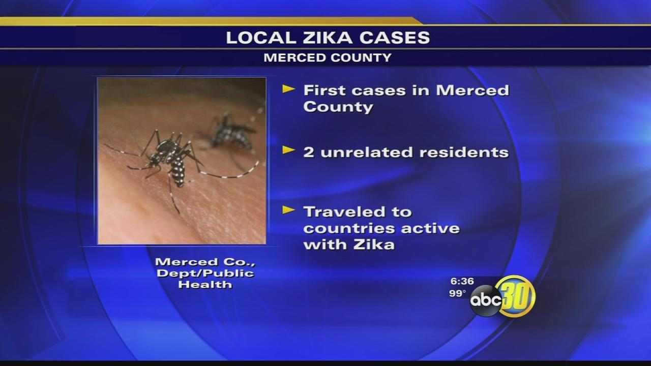 Merced County health department confirms first cases of Zika Virus