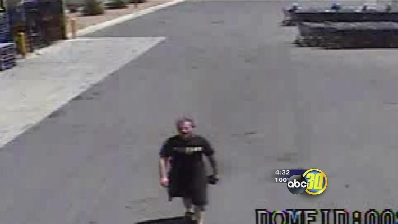 Fresno Fire needs help identifying possible arsonist caught on camera