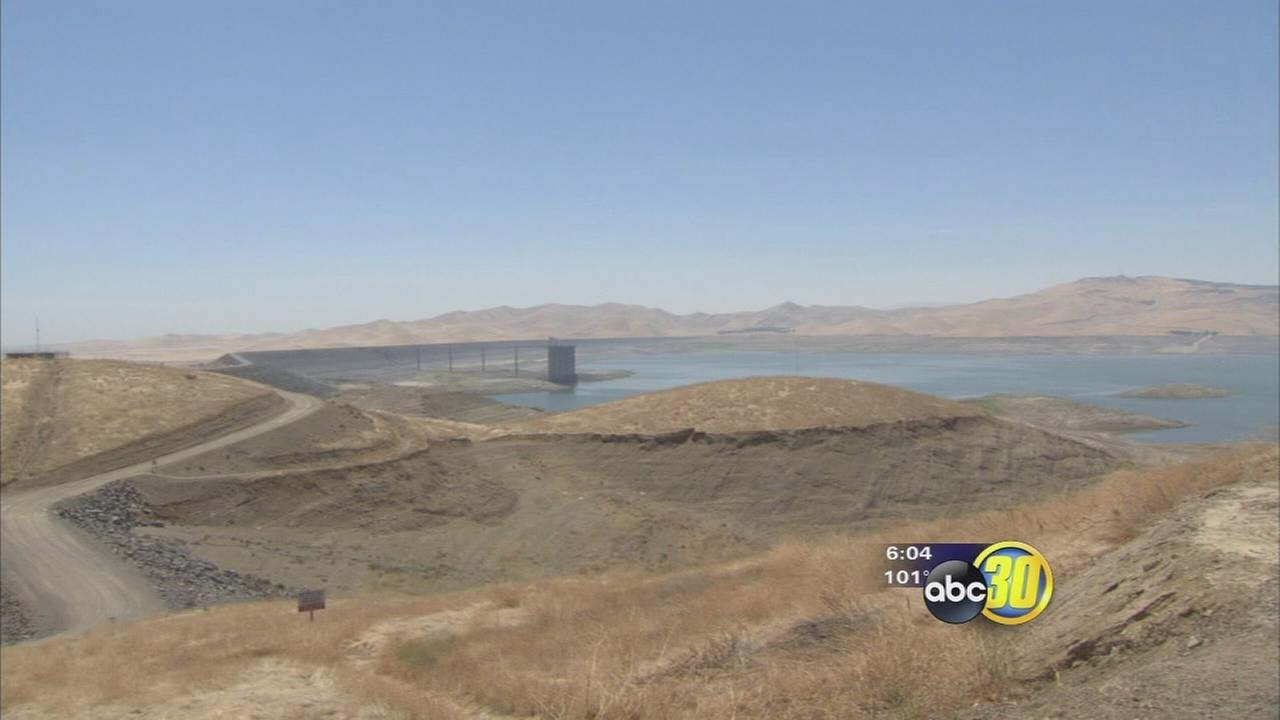 San Luis Reservoir at lowest level in 25 years