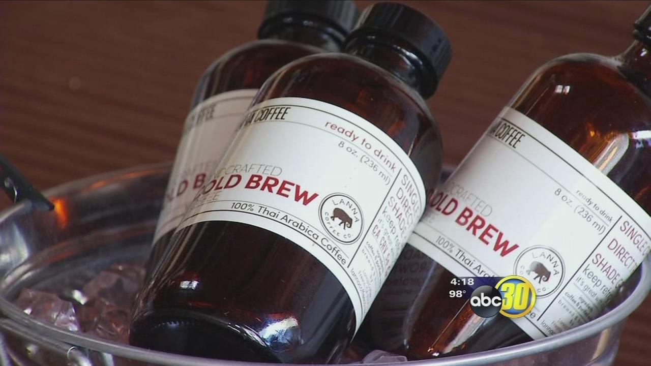 Local coffee company brewing up a cold drink thats gaining popularity