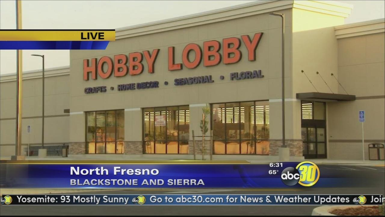 Hobby Lobby opens new store in north Fresno