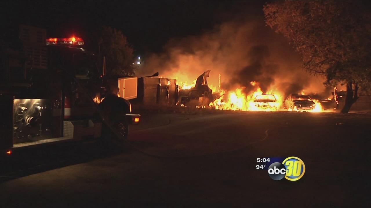 Madera businesses reeling after losing thousands of dollars because of fire