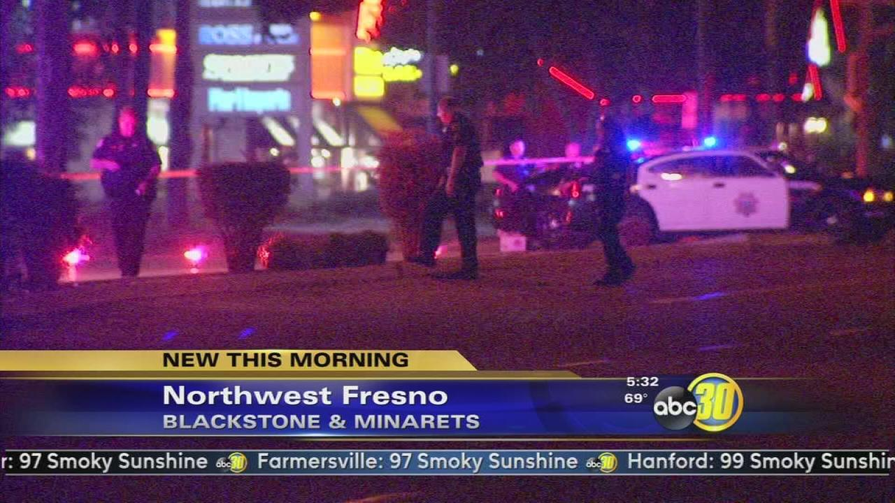 Fresno Police are investigating a shooting in Pinedale