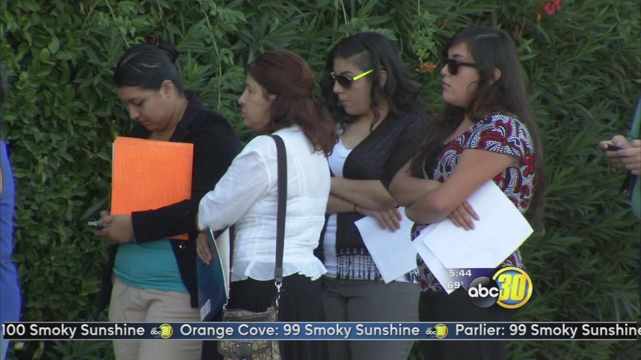 Big Fresno Fair holds a a job fair