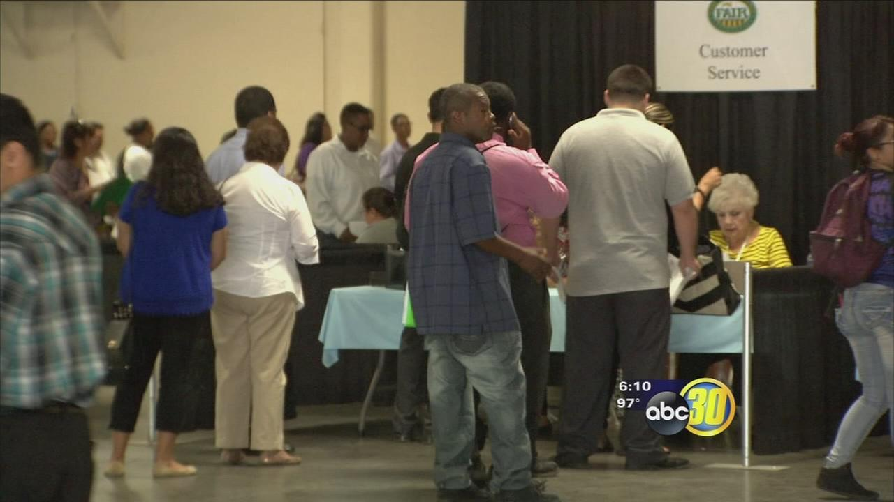 Big Fresno Fair holds job fair to fill about 500 positions