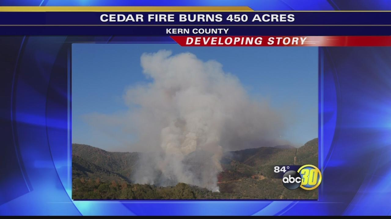 Fire breaks out in Kern County, precautionary evacuations ordered