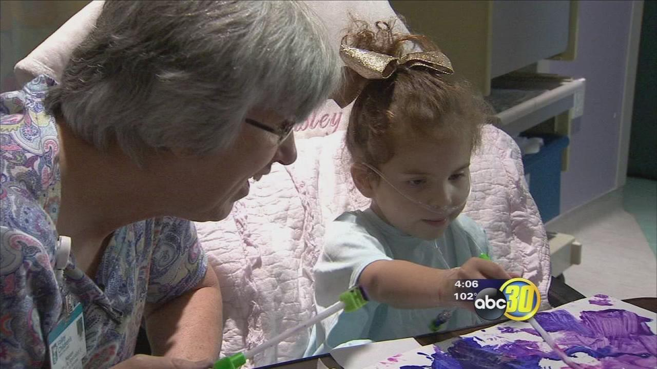 Futures Worth Fighting For: Valley Childrens help young heart patient feel at home