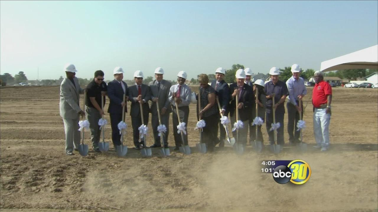 Construction begins on new Madera Unified elementary school to honor local volunteer
