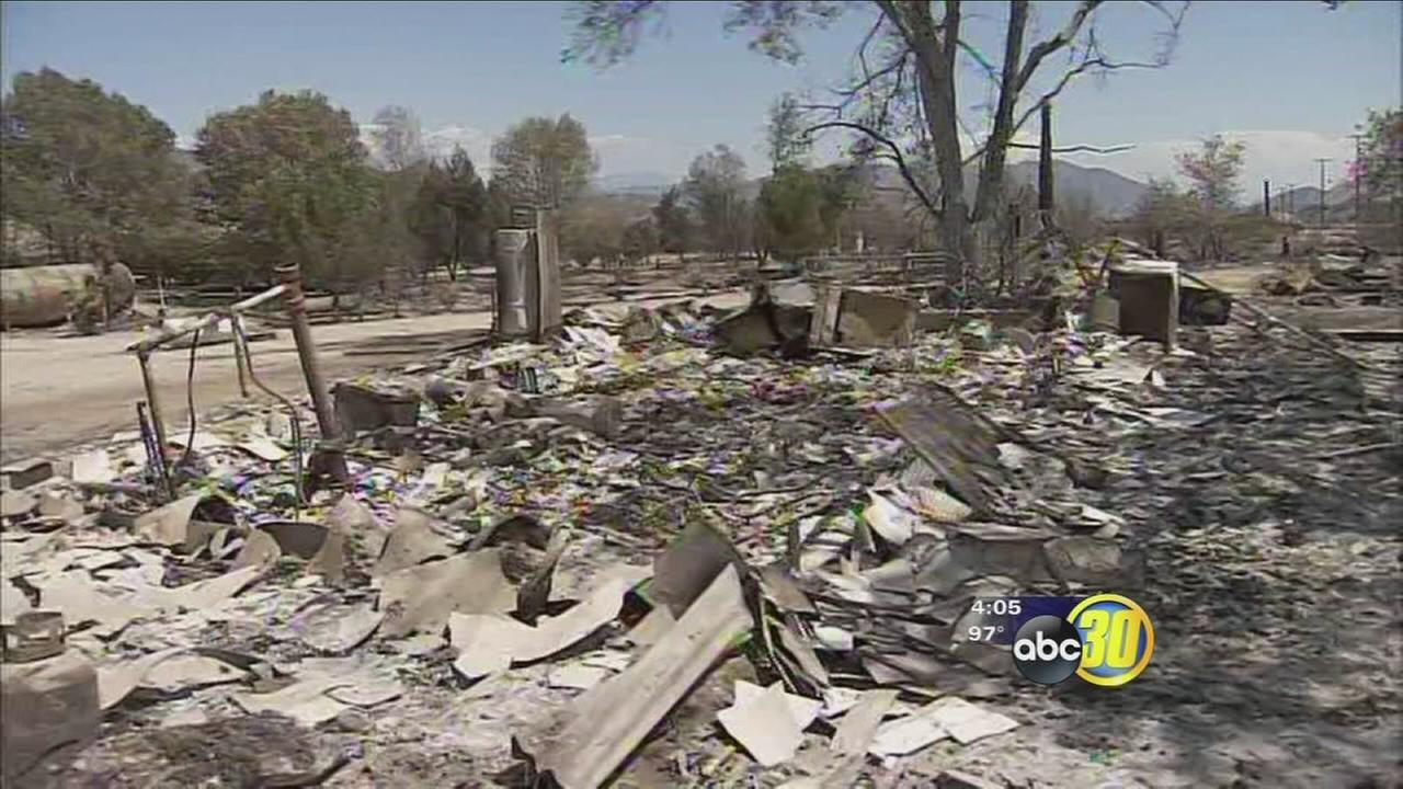 Some residents return home as Blue Cut Fire devastates area