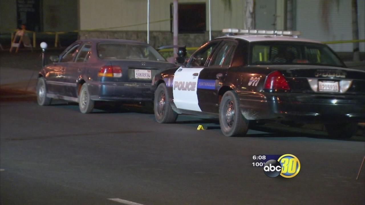 Police officer shot during traffic stop in Porterville