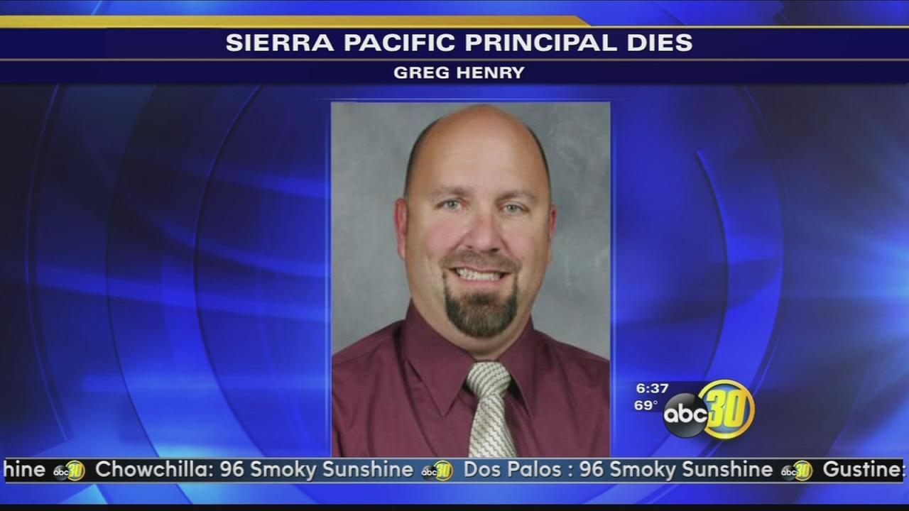 Sierra Pacific High School, Greg Henry, has passed away