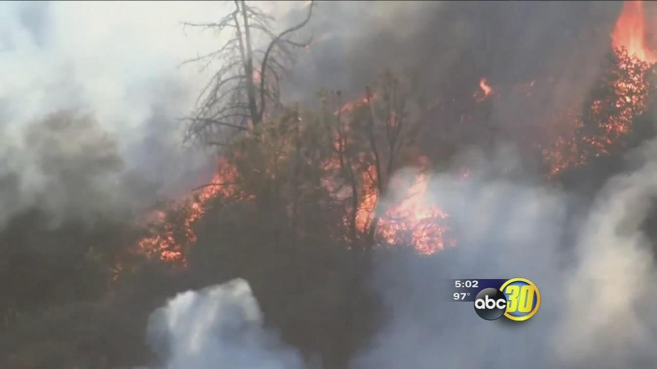 Cedar Fire continues to grow as crews work to contain blaze
