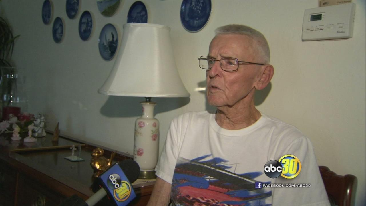 World War II vet stares down robber who then admits crime